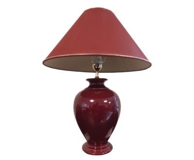 KOLARZ lámpa, piros kerámia
