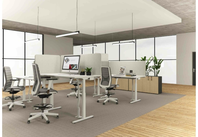 B-ACTIVE állítható magasságú asztal
