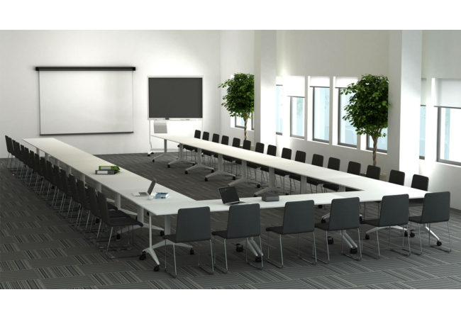FLIP-TOP tárgyaló-és konferencia asztal