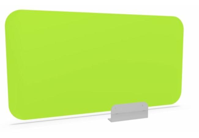 Plexiglas paraván, zöld