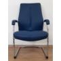 Kép 2/2 - SONATA szék, kék bőr