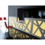 Kép 2/9 - ZIG-ZAG recepciós bútor